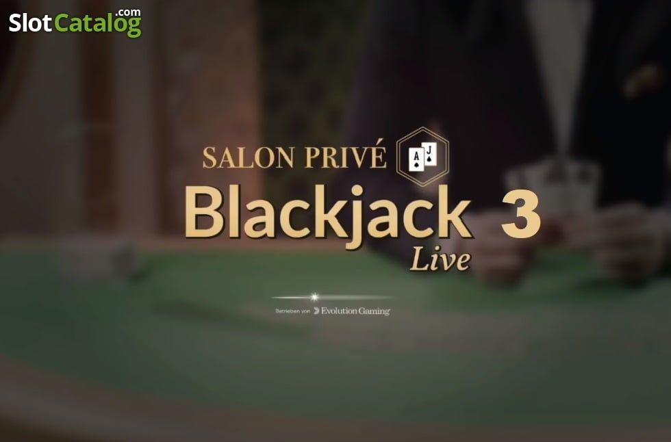 Blackjack Salon Prive de Evolution